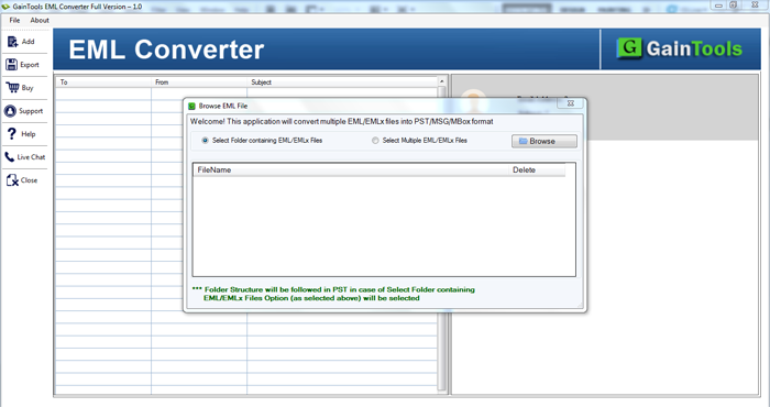 Convert unlimited files by this EML to the MSG Converter tool!