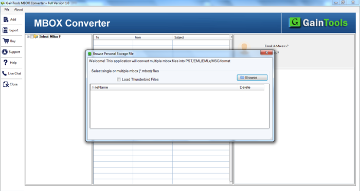 Try this advanced MBOX to PST Converter tool!